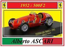 1/43 - FERRARI 500F2 - Alberto ASCARI - 1952 - Die-cast