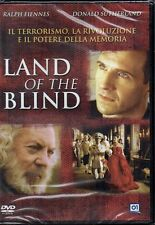 LAND OF THE BLIND RALPH FIENNES DVD NUOVO SIGILLATO
