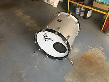 "Gretsch 18"" Silver Sparkle Bass Drum-  USA Maple!"