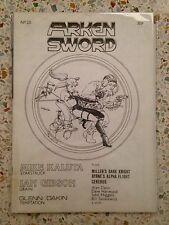 Arken Sword no. 20 Miracleman UK Fanzine Alan Moore
