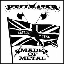 "HELLRAZER - Made Of Metal (NEW*NWOBHM 7"" - CD - REPLICA #7*LIM.ED. 500)"