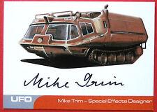 UFO-Mike Trim (MT1) - tarjeta de autógrafos muy limitada-diseñador de efectos especiales