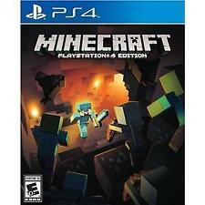 MINECRAFT * PLAYSTATION 4 * BRAND NEW FACTORY SEALED!