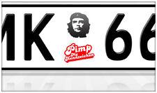 AU Ersatz Plakette Nummernschild Aufkleber Che Guevara Revolution Punk Ford Opel