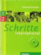 Hueber SCHRITTE INTERNATIONAL Intensivtrainer mit Audio-CD 1+2 Niveau A1 @NEW@