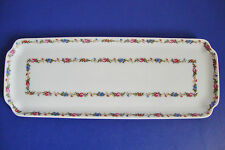 """Limoges France Chamart Pastry Serving Tray - 11 3/8"""" long and 4 1/4"""" wide"""