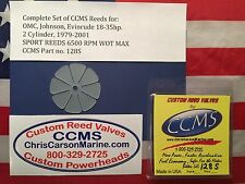 CCMS OMC Johnson Evinrude Sport Outboard Reed 18-35hp 2Cylinder 1979-2001 PN128S
