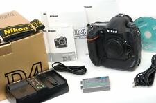 BEAUTIFUL, Boxed Nikon D4 Camera Body + Accessories - Freshly Serviced by Nikon