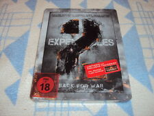 The Expendables 2 - Back for War Steelbook [Blu-ray] NEU OVP