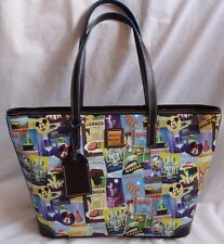 Disney Epcot 16 Food And Wine Festival Dooney & Bourke Shopper Tote Purse Bag 3