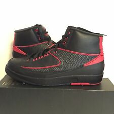 Nike Air Jordan 2 Retro Alternate '87 Varsity Red Mens Size 10.5 DS New *re
