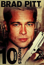 10 Action Movies DVD 2014 2-Disc Set Brad Pitt in Too Young To Die & Other Hits