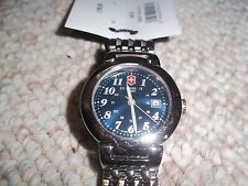 SWISS ARMY Watch 24416 Cavalry stainless Strap WOMANS Victorinox blue
