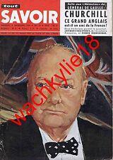 Tout savoir 79 de 21/1959 Churchill Poliomyélite Panda Désert Hortense Schneider