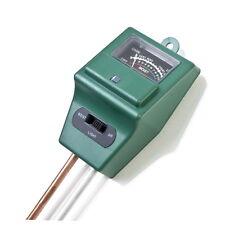 3 in 1 PH Tester Soil Water Moisture Light Test Meter for Garden Plant Flower GU