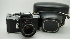 EDIXA Flex 35mm Film Camera // EDIXA-ISCOTAR F/2.8 50mm Lens + Case