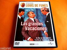 LAS GRANDES VACACIONES - Louis de Funes - Nueva