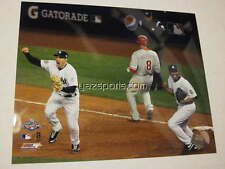 New York Yankees 2009 World Series Last Out Rivera Teixeira 8x10