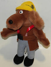 Walsh Construction Dog All Greek To Me Plush Stuffed Animal Toy Brown