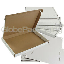 20 x WHITE C5 SIZE PIP LARGE LETTER CARDBOARD POSTAL MAIL BOXES 222x160x20mm