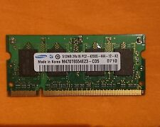Laptop RAM / Memory DDR2 - 4200s - 444 - 1GB ( 2 x 512MB ) Memoria
