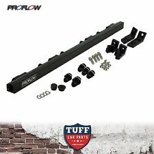 BA BF 6 Cyl Ford Falcon XR6 Turbo FPV F6 Proflow Billet Fuel Rail Kit Black New