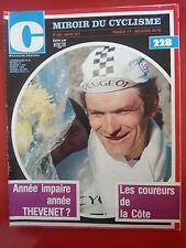 1977 miroir du cyclisme n°228 THEVENET MAERTENS MERCKX GUIMARD THURAU KUIPER