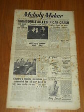 MELODY MAKER 1949 #847 OCT 29 JAZZ SWING LESLIE DOUGLAS GRAPPELLY DAVE WILKINS
