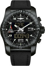 NEW BREITLING PROFESSIONAL COCKPIT B50 NIGHT MISSION WATCH | VB50101W/BE37-104W