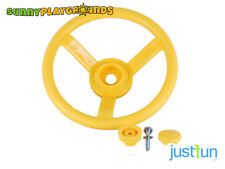 PLASTIC STEERING WHEEL YELLOW Swing Seat Set Accessories Playset  Playground