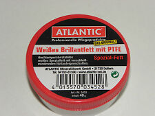 ATLANTIC Bianco Brillante grasso con PTFE 40 g Dosse High-Tech grassetto no.