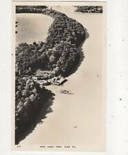 King Harry Ferry River Fal [419] Cornwall Vintage RP Postcard 919a