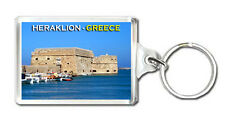 HERAKLION GREECE KEYRING SOUVENIR LLAVERO