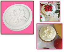Katy Sue Poinsettia Christmas Cup cake Sugarcraft Mould NEXT DAY DESPATCH