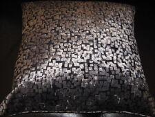 Romo Black Inachi Graphite Cushion Cover