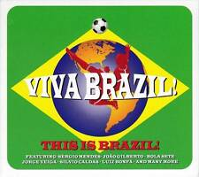 VIVA BRAZIL! THIS IS BRAZIL! - VARIOUS ARTISTS (NEW SEALED 3CD)