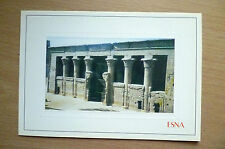 Postcard- ESNA EGYPT- THE TEMPLE OF ESNA (16.5x11.5 cm)