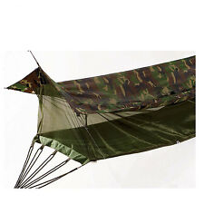 Rothco US GI Canvas Jungle Hammock with Mosquito Net Military Bushcraft Camo