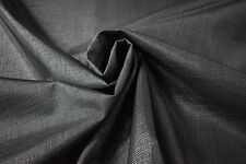 """10 ft. Black Coated Outdoor Marine UV Mesh Boat Seat Fabric PVC Polyester 60"""" FR"""