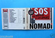 cds nomadi sos con rabbia e con amore io vagabondo utopia rare cd 1999 gq f id d