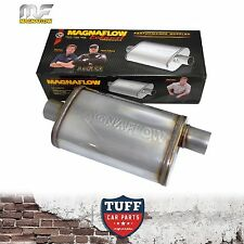 "MAGNAFLOW STAINLESS STEEL 2"" MUFFLER OVAL BODY 16"" x 8"" x 5"" CENTRE OFFSET"