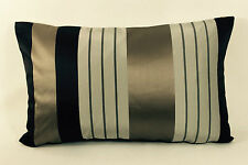 "Designers Guild Fabric Cushion Cover- Joduri - Cocoa  20"" x 12"" Pillow Throw"