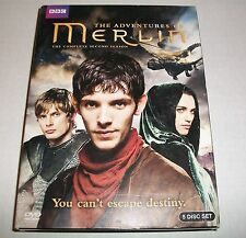 Merlin: The Complete Second Season (DVD, 2011, 5-Disc Set) EXCELLENT PRE-OWNED