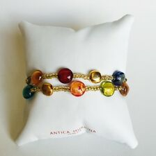 Antica Murrina Frida 2--Handmade Multicolor Murano Glass  Bracelet