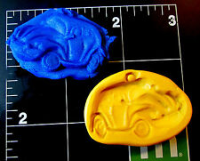 Car Beetle -Flexible Silicone Mold-Cake Cookie Crafts Fondant Top Cupcake