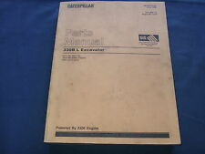 CAT CATERPILLAR 330B L EXCAVATOR PARTS BOOK MANUAL S/N 6DR1-UP 2 VOLUME SET