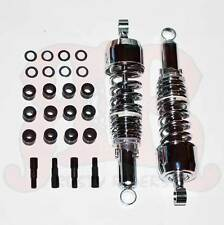Chrome Motorcycle Shocks Fit Yamaha RS100 RS125 TS50 GT XS360 DT175 DT125 DT100