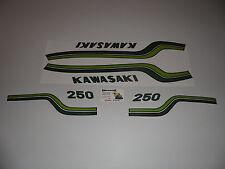 KAWASAKI  250 S1  AUTOCOLLANT  FUEL TANK  DECAL  AUFKLEBER
