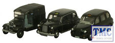76SET09 Oxford Diecast Escala 1:76 Calibre OO triple Taxi