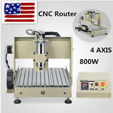 CNC 3040T Carving Router Engraver/Engraving Machine Milling Drilling 4Axis US